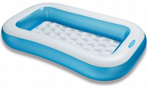 Intex Rectangular Pool - Kinder Aufstellpool - Planschbecken - 166 x 100 cm x 25 cm - Für 2+ Jahre