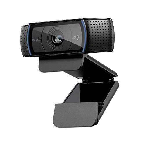 Logitech Webcam (Modell: C920) Full HD 1080p Webcam mit Stereomikrofon